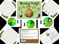 Wonderful Common Core Aligned game for learning money in March