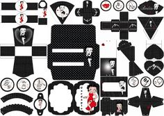 Betty Boop: Free Printable Kit.   Oh My Fiesta! in english