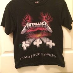 Vintage Tops - Vintage Metallica Concert Tee