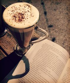 A beautiful afternoon read a Baileys spiked latte.  Hello perfect afternoon!