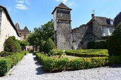 Jardin public à Orthez
