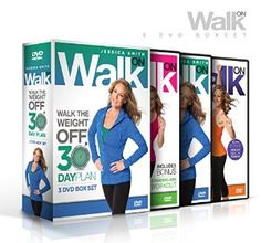 Jessica Smith Walk On: Walk the Weight Off 30 Day Plan (Low Impact High Results Program)
