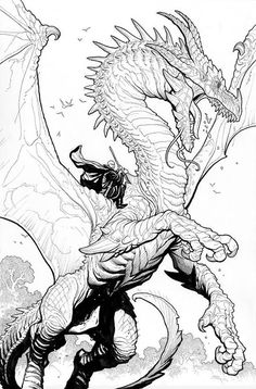 Dragon - Frank Cho