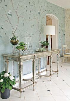 Home interior design idea with a theme Classic blue.
