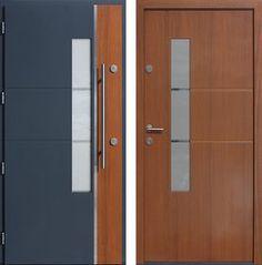 Drzwi wejściowe z aplikacjami inox model 429,1-429,11+ds12