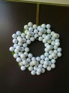Well what else would I do with all those old golf balls?