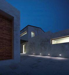 Luminaria lineal de exterior a LED empotrable para pared E-FILO : LED Targetti Sankey S.p.a.