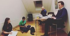 Team! Assemble! Super stoked for developing our awesome bank assistant idea tomorrow #cphsw #nowwesleep