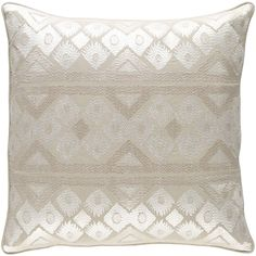 Cedro Cotton Throw Pillow