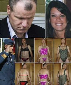 The killer cross-dressing colonel Russell Williams and one his victims, Jessica Lloyd. Murder Most Foul, Nick Vujicic, Natural Born Killers, True Crime Books, Real Monsters, Ted Bundy, Normal Person, Murder Mysteries, Criminal Minds