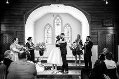 Beautiful small wedding inspiration at sweet Auckland Chapel in Henderson New Zealand #popupwedding