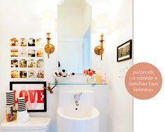 Eclectic Bathroom Design, Pictures, Remodel, Decor and Ideas - page 10 Eclectic Bathroom, Chic Bathrooms, Small Bathroom, White Bathroom, Modern Bathroom, Hipster Bathroom, Quirky Bathroom, Colorful Bathroom, Bathroom Accents