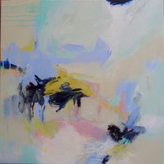 """""""Off on a Tangent"""" 24""""x24"""" by Patricia Schwimmer"""