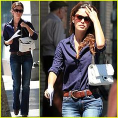 More Rachel Bilson - her style is so easy. Rachel Bilson, Simple Outfits, Pretty Outfits, Casual Outfits, Zoe Hart Style, Tomboy Fashion, Her Style, Passion For Fashion, Autumn Winter Fashion