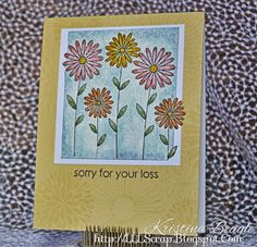 Live Love Laugh Scrap: some Watercolor Play today; Handmade Card using Hero Arts and Distress Markers to Watercolor with Wink of Stella #CardMaking