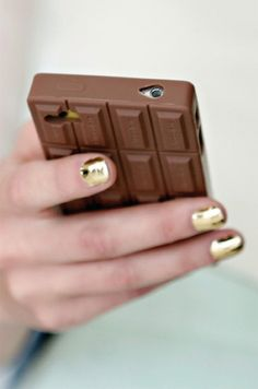 nails at christine alcalay's spring 2013 presentation... and that iphone case may be necessary.