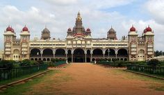 Mysore Palace -  Also known as Amba Vilas Palace, is a palace situated in the city of Mysore in southern India