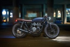 Photographer Dave Lehl spent two years meticulously building up this Honda CB550—and it shows.