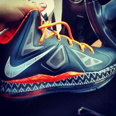 My new babies! 2013 Labrons Black History Month Edition