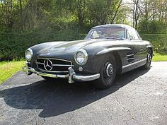 1955 Mercedes-Benz 300SL, love this front end