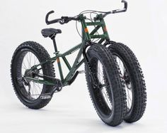 Rungu Juggernaut Three-Wheeled Bike is ready for sand and snow