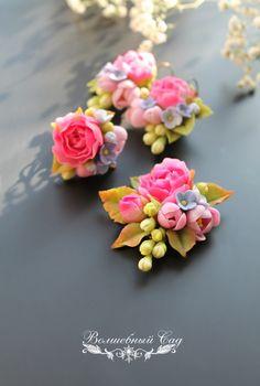 НЕбисерная лавка чудес: Пора цветения (цветочные украшения из полимерной глины)