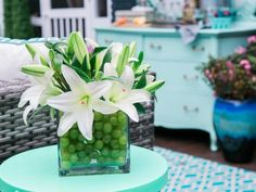 We just brought a new twist to edible arrangements. These stunning centerpieces bring together a unique mix of flowers, vegetables and fruits that will take your spring table to a whole new level.