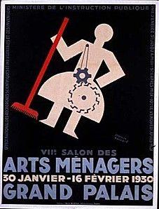 Francis Bernard (1900-1979) – Affiche Arts ménagers (1930)