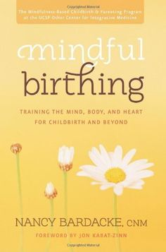Mindful Birthing: Training the Mind, Body, and Heart for Childbirth and Beyond by Nancy Bardacke, http://www.amazon.com/dp/006196395X/ref=cm_sw_r_pi_dp_tc.gtb0J7X5E4