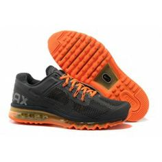 Anthracite Anthracite Total Orange Nike Air Max 2013 Men s Running Shoes I  would be so dang happy if these showed up in my closet one day! 94ebe7b986