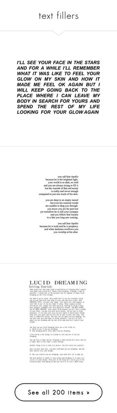 """""""text fillers"""" by remus-lupin ❤ liked on Polyvore featuring fillers, text, words, quotes, items, phrase, saying, black and white, backgrounds y magazine"""