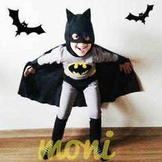Batman Costume by monikids on Etsy