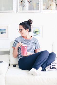 favorite tv series on netflix // popcorn box Tv Series On Netflix, Popcorn, About Me Blog, Box, Beautiful, Women, Fashion, Movie, Moda