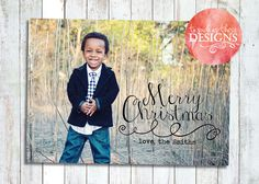 Christmas Overlay card Digital Christmas by ToSuchAsTheseDesigns