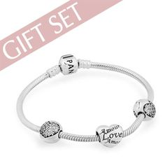 "Pandora ""Love of My Life"" Bracelet Gift Set"