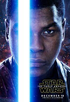 Finn from Star Wars: The Force Awaken