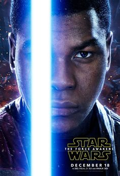 Finn from Star Wars: The Force Awaken