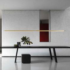 Combo Design is officieel dealer van Luceplan  ✓ Compendium hanglamp makkelijk bestellen ✓ Gratis verzending (NL) ✓ Deskundig advies Led Pendant Lights, Pendant Lamp, Pendant Lighting, Luce Plan, Perriand, Modern Office Design, Luminaire Design, Strip Lighting, Sofa Design