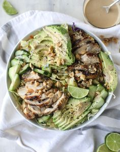 chicken avocado sala