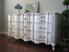 European Paint Finishes: Provincial Dresser & Nightstands ~