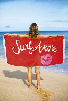 Beach towel.