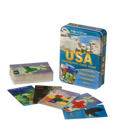 Take a look at this WorldWise USA Card Game on zulily today!