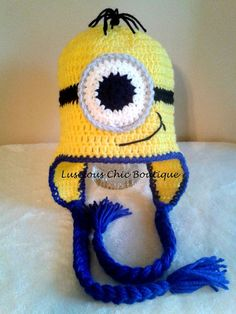 Minion Hat @jonea garay garay Vanlandingham
