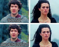 And this is why I will always like Mordred....and why I hold Merlin partly responsible for Mordred's actions.