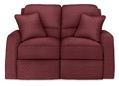 Looking for a great escape to a relaxing destination? Then schedule some time kicking back in the Cole reclining loveseat. A clean, contemporary design with sleek track arms and roomy box seat cushions with welted trim. Cole's inviting cushions and full reclining comfort will let you enjoy a year-round getaway in your home. Available in a variety of custom fabrics and leathers. Matching accent pillows included. See the complete Cole collection for additional matching pieces.