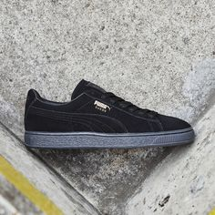 Shop the Puma Suede Classic Trainer in black over on the site. Sports  Brands 087bf20f6