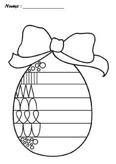 Easter in kindergarten: reproduce the different spellings in kindergarten - My CMS Learning Games For Kids, Preschool Learning Activities, Easter Activities, Math For Kids, Diy For Kids, Montessori Math, Kindergarten Fun, Preschool Colors, Kids C