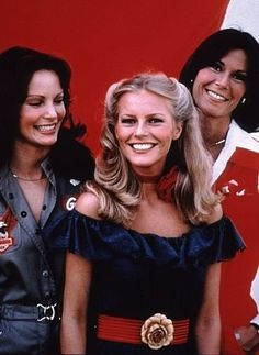 """Charlie's Angels"" Cheryl Ladd, Jaclyn Smith, Kate Jackson 1977 ABC"