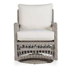 Lloyd Flanders Mackinac Swivel Lounge Glider Chair with Cushions Fabric: Spectrum Daffodil