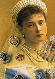 Empress Alexandra Fyodorovna in her Kokoshnik Tiara